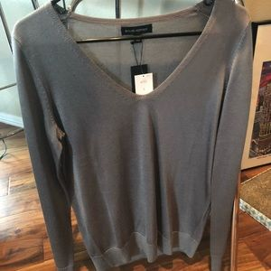 Banana Republic Gray Long Sleeved top